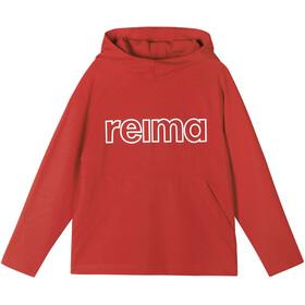 Reima Lupaus Hoodie Kids, tomato red